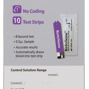 KetoSens – Blood Ketone Test Strips